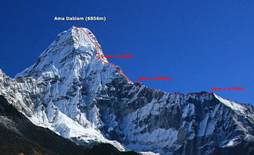 Ama-Dablam-Expedition-Map-routes
