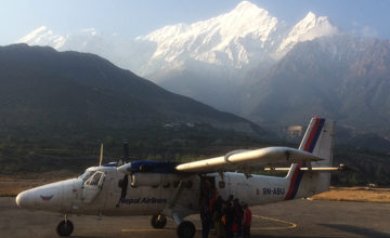 Fly to Pokhara