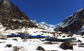 Trek to Machapuchhre Base Camp