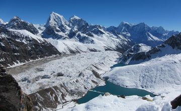 Acclimatization day at Gokyo.