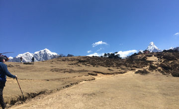 Acclimatization day at Namche Bazaar.