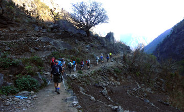 Trek to Machha Khola