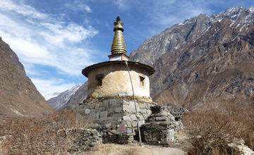 Trek to Mu Gompa.