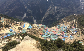 Acclimatization in Namche Bazaar