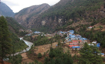 Trek to Namche