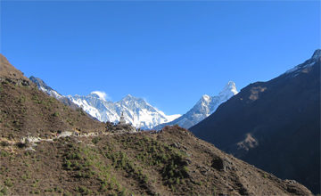 Trek Back to Namche