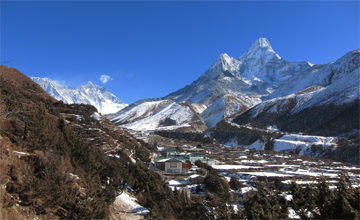 Trek to Pangboche