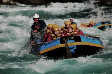 One day Trisuli River Rafting