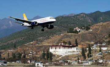 Final Departure from Paro