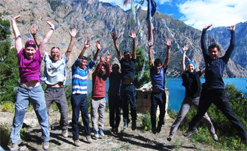 Rest Day at Phoksundo lake