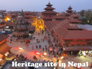 Heritage site in Nepal