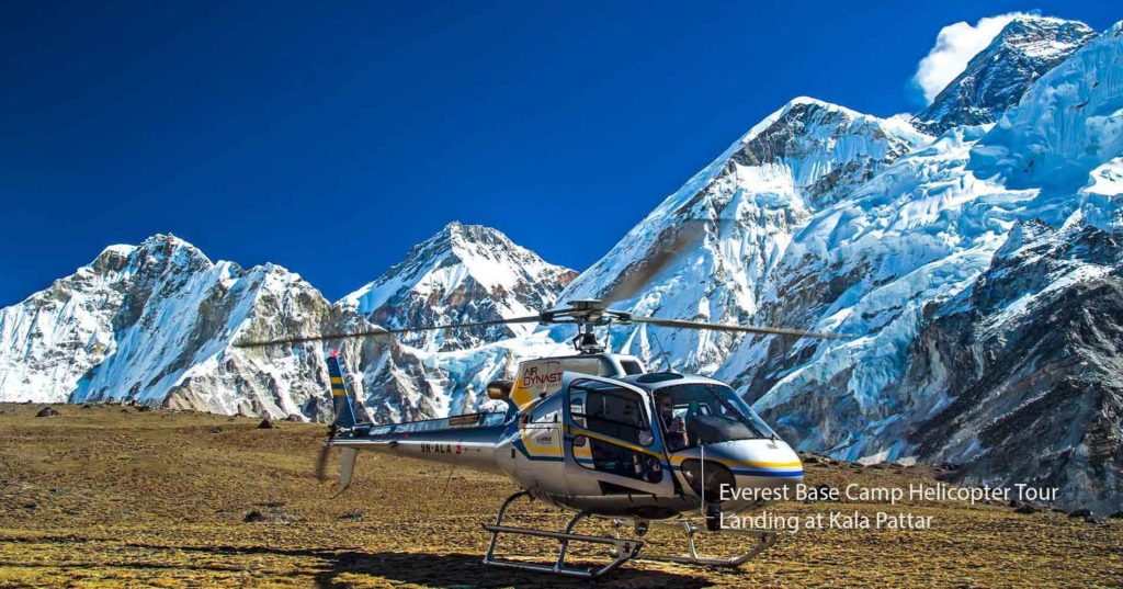 Everest Base Camp Helicopter Tour